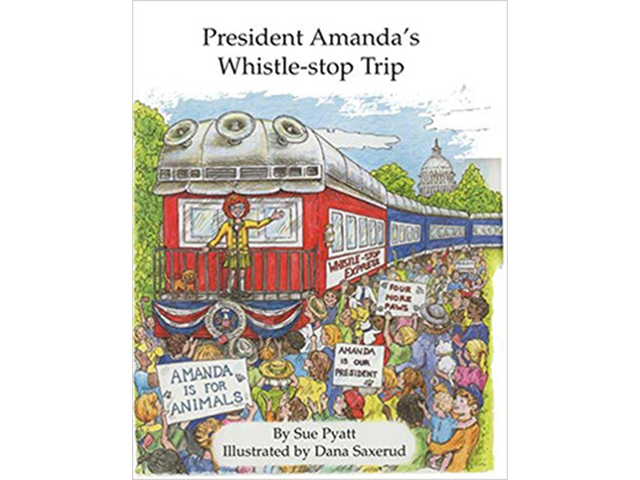 President Amanda's Whistle-stop Trip Cover